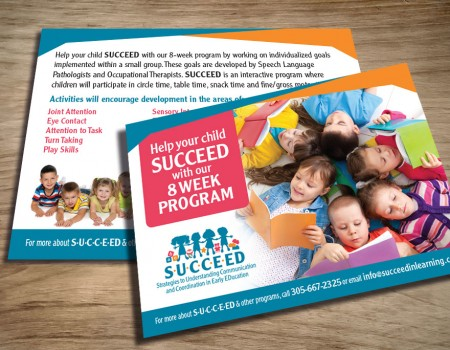 SUCCEED Postcard